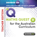 assessON Maths Quest 9 for the Australian Curriciulum - Teacher Edition