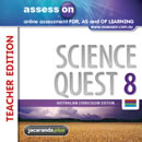assessON Science Quest 8 Australian Curriculum Edition - Teacher Edition