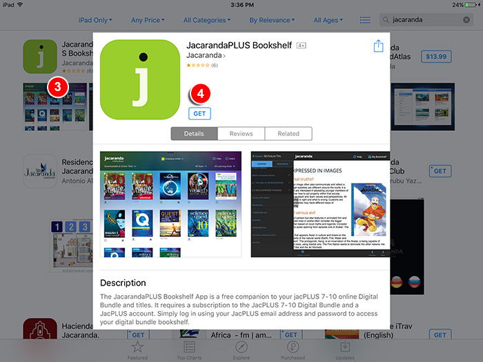 How Do I Download And Access The JacPLUS Bookshelf IPad App